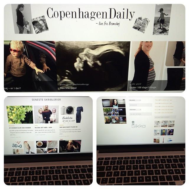 Så kører den nye blog. De næste par dage kan det være der blir rettet lidt til, men som udgangspunkt er jeg meget meget tilfreds ☺️ Tak til min blogwiz @gensmann ❤️ #copenhagendaily #blogdesign #wordpress #blog
