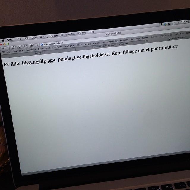 Uhhhh, spændende ? #copenhagendaily #blog