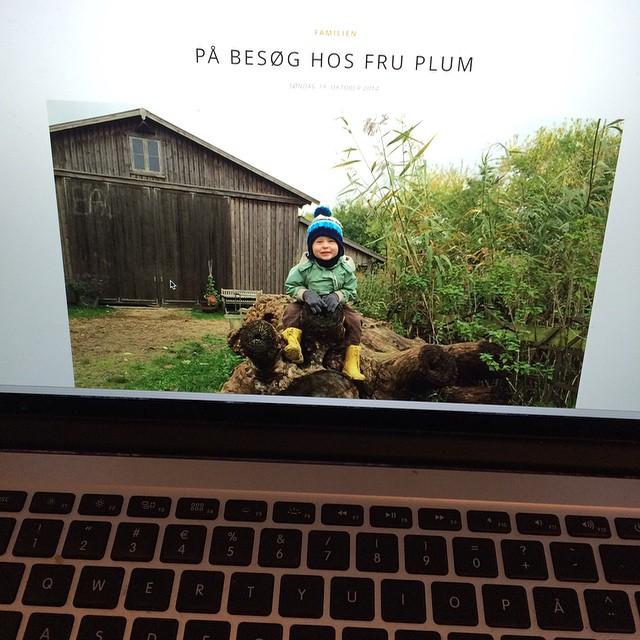 Har blogget om vores lørdagstur oppe hos Camilla Plum ☺️ #copenhagendaily #blog