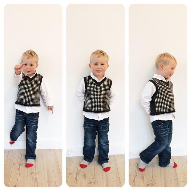 Nogen har fået fint tøj på i dag, for der har været fotograf i børnehaven ❤️