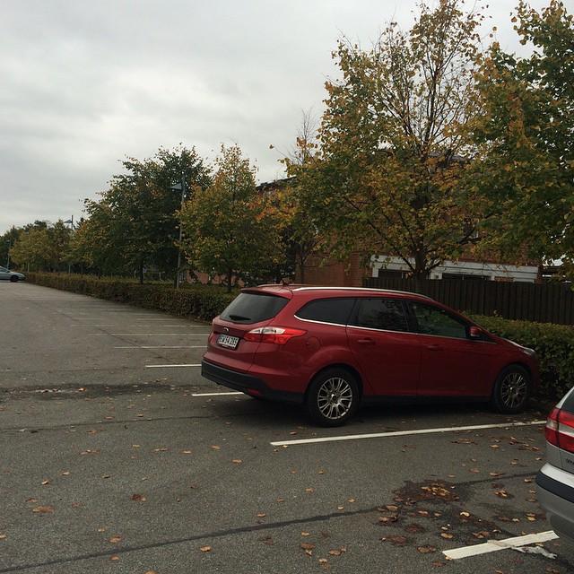 Den sværeste parkering i dag... ?