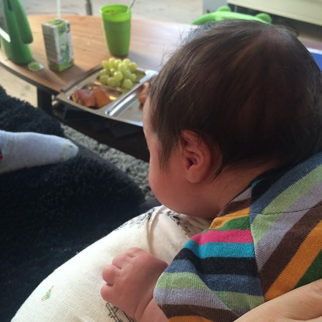 Hvem der var gammel nok til at spise sådan en kanelgiffel dér ? #lillebror