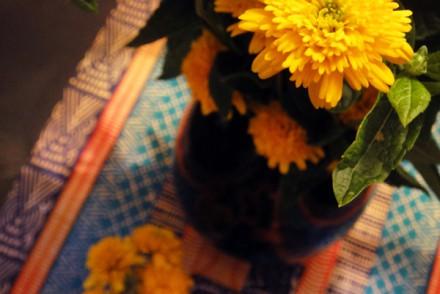 blomst-dug